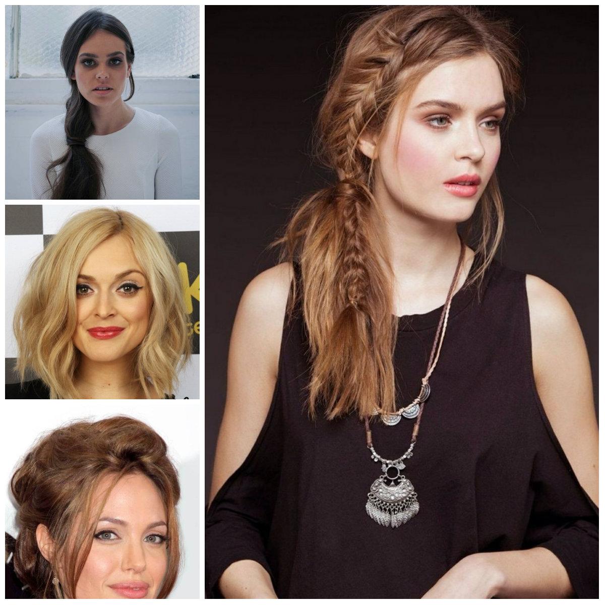 Melhores Penteados para rosto quadrado Shapes