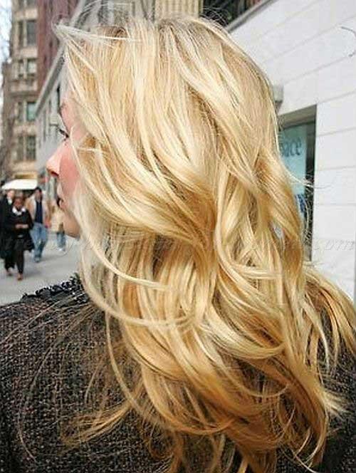 Melhores penteados ondulados