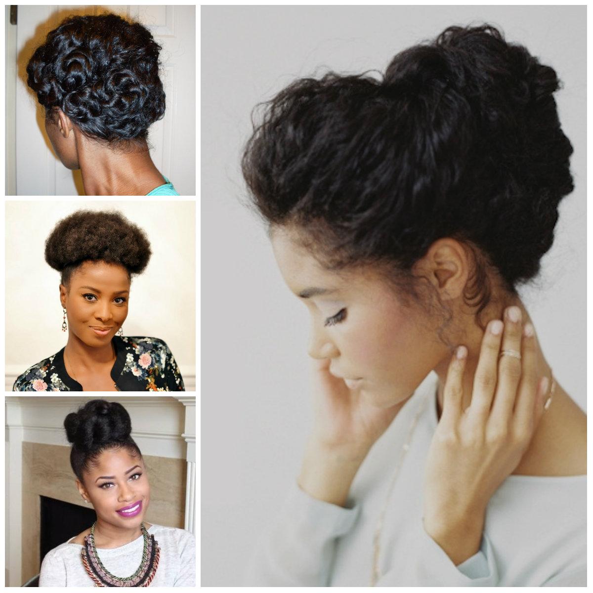 Coolest Updo Penteados para cabelos naturais