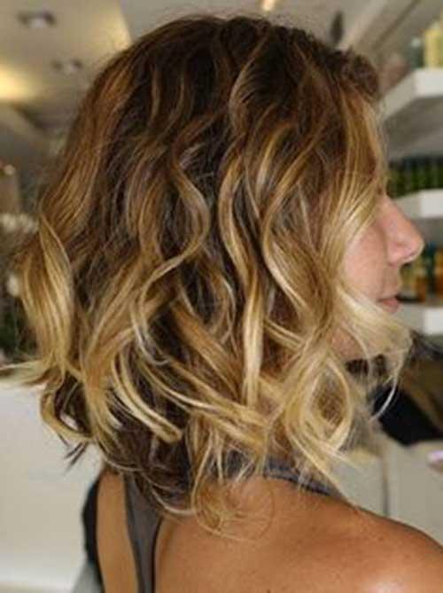 Curly penteados para o cabelo curto