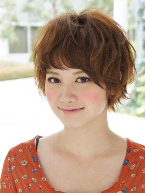 bonitos penteados curtos asiáticos