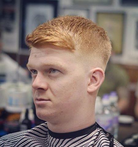 Front varredura Haircut