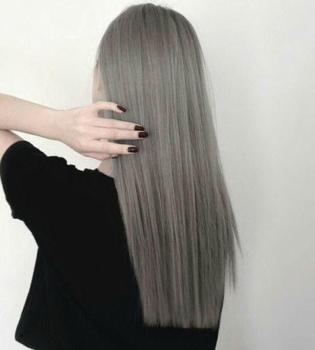cabelo stright Grey