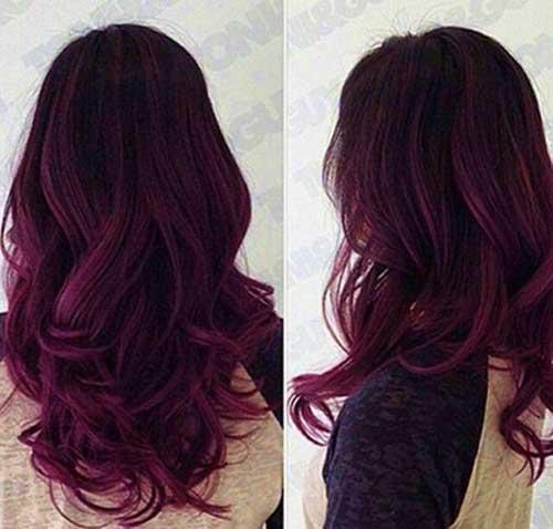 Idéias de cabelo para cabelo escuro