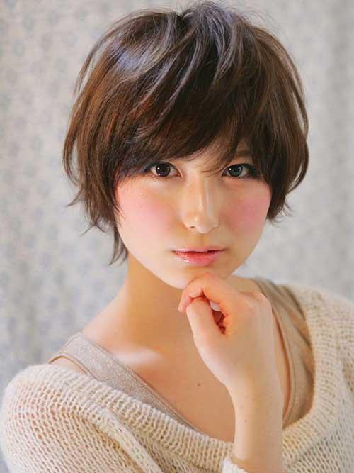 Pixie Cut asiática