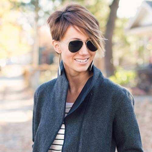 20 Trendy Layered Cabelos Curtos