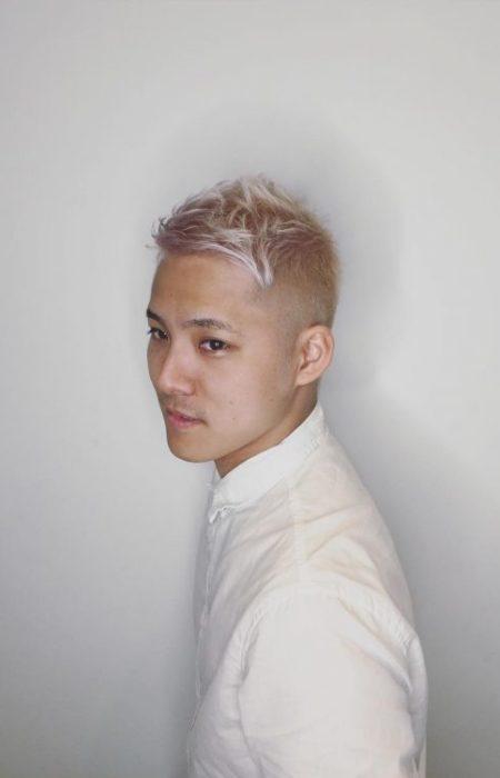 Short Ice Loiro Asymmetric Haircut