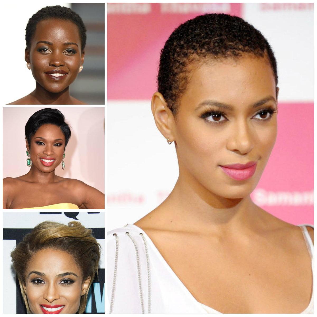 Top 7 Curtas Corte de Afro Mulheres American