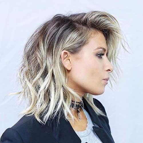 Trending curtos penteados