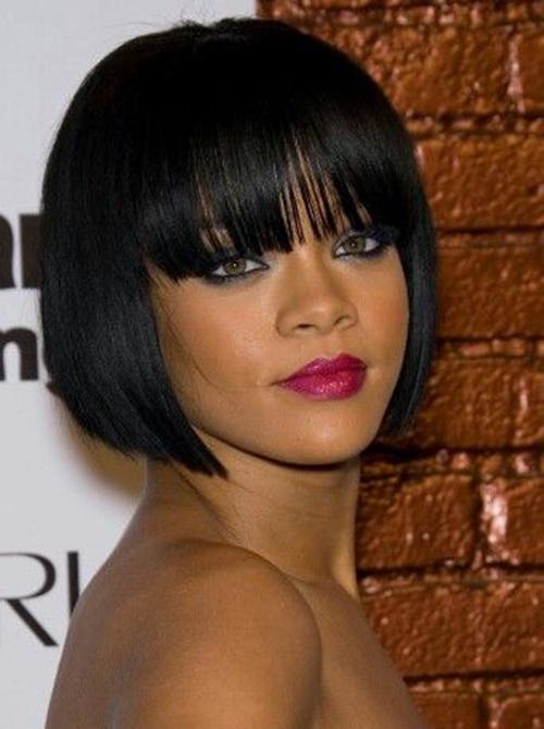 Rihanna Bob cortes de cabelo-10