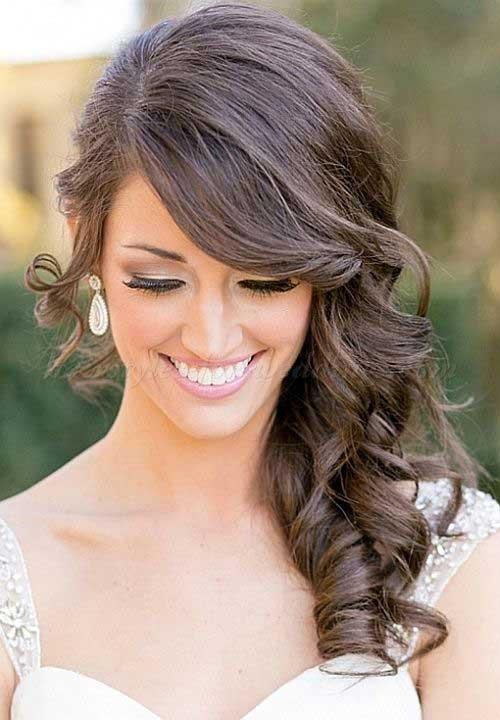 Bridal Cabelo meio Updo-11