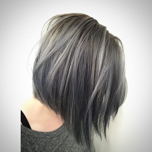 curto cabelo cinzento Styles-10