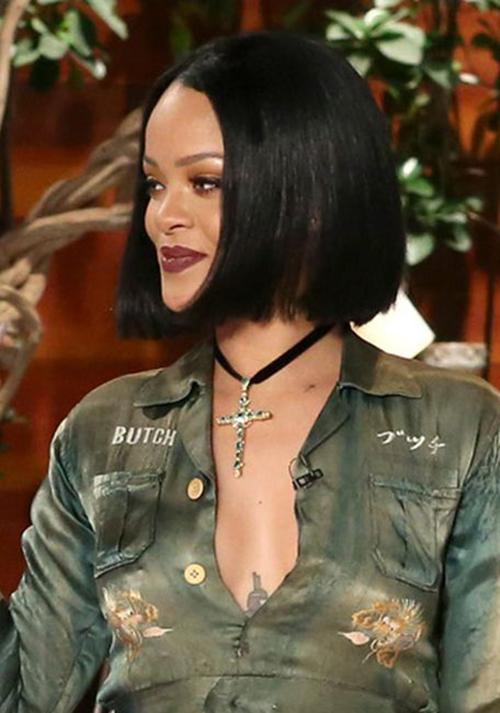 Rihanna Bob cortes de cabelo-11