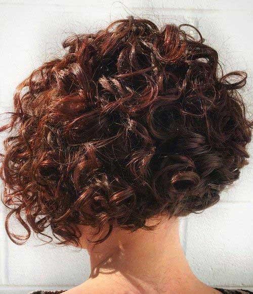 Penteados para cabelo curto encaracolado-13
