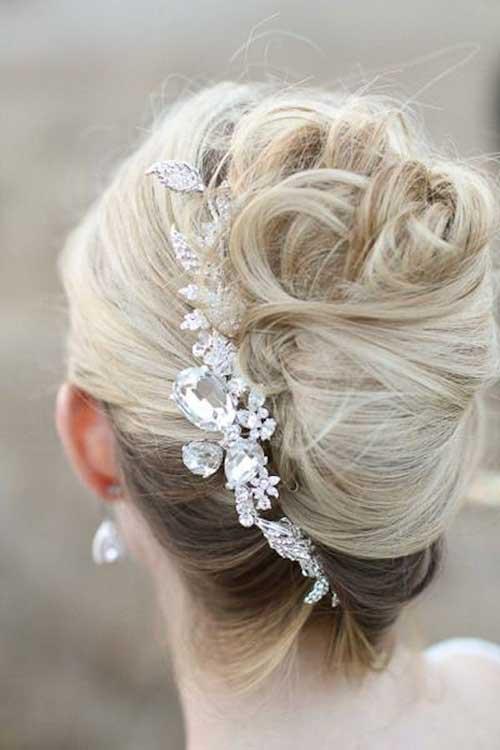 Estilos de cabelo de casamento para Long Hair-13