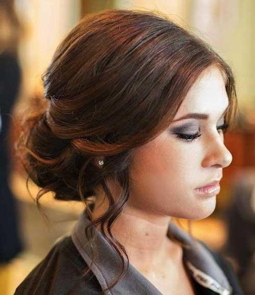Estilos de cabelo de casamento para Long Hair-15
