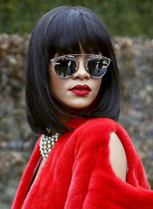 Rihanna Bob cortes de cabelo-17