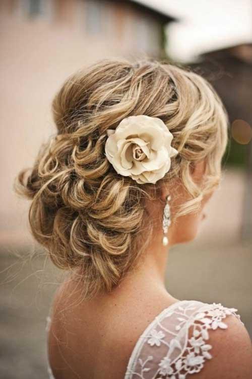 Estilos de cabelo de casamento para Long Hair-16