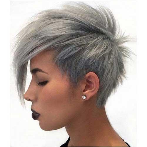20 Longo Pixie corte de cabelo para cabelos grossos