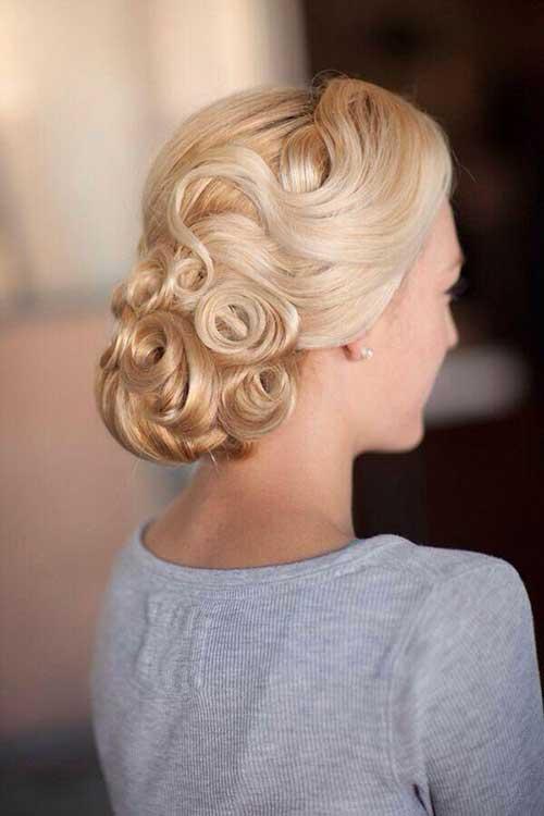 Estilos de cabelo de casamento para Long Hair-20