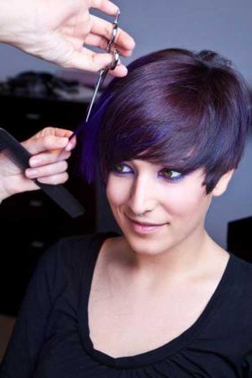 Trendy curto penteados-23