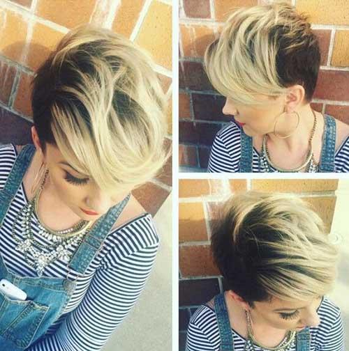 Estilos bonitos de cabelo para cabelo curto-6