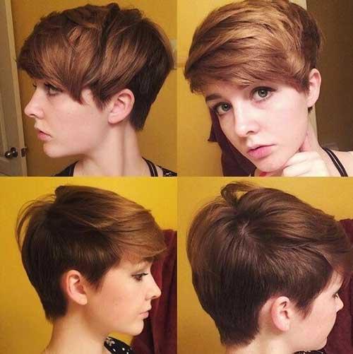 Melhores Penteados com franja lateral Swept
