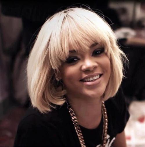 Rihanna Bob cortes de cabelo-7