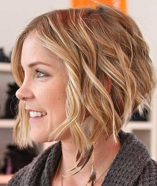 14 Idéias penteado curto chique onduladas