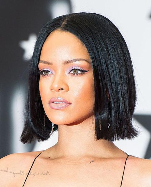 Rihanna Bob cortes de cabelo-9
