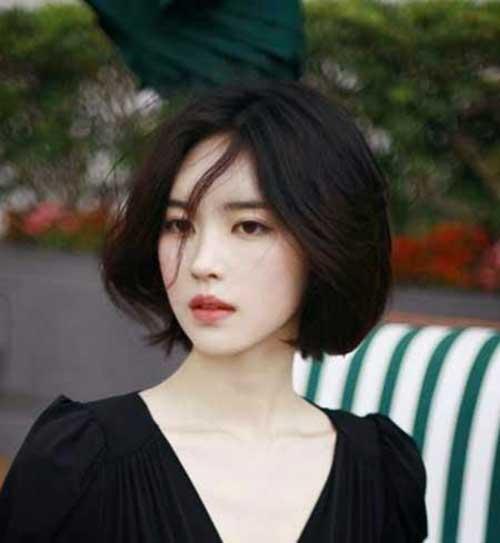 Asian Bob Cut