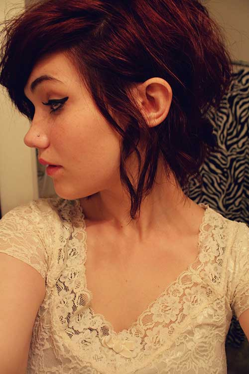 corte de cabelo curto bonito