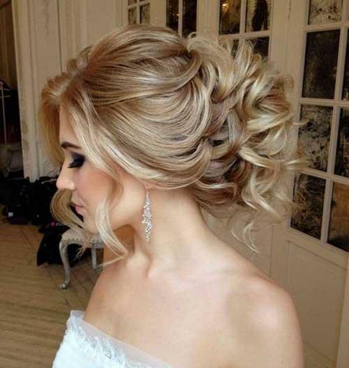 Penteados para cabelos longos para casamentos