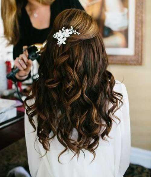 Penteados para casamentos Cabelo Comprido