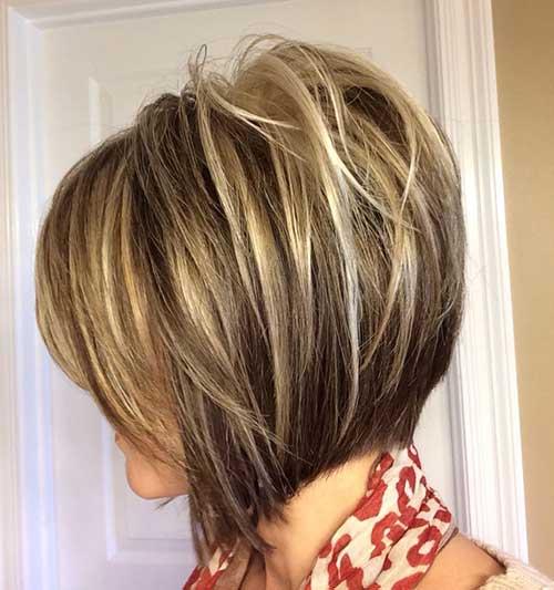 Curta Elegante cortes de cabelo 2014