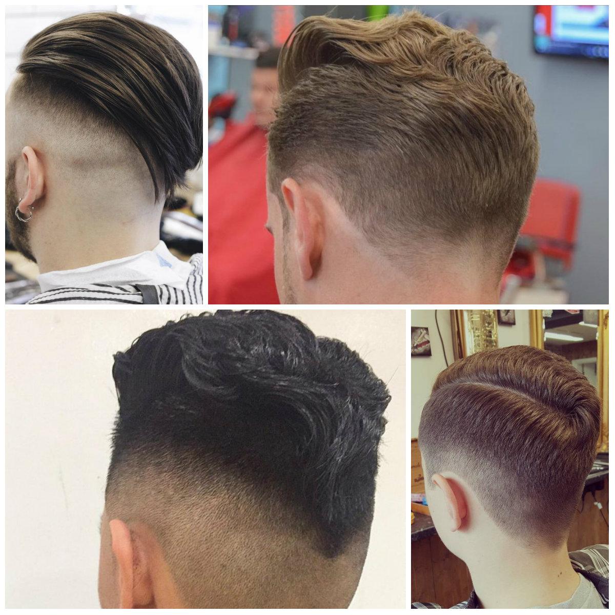 Mens Cortes de cabelo em forma de V para 2017