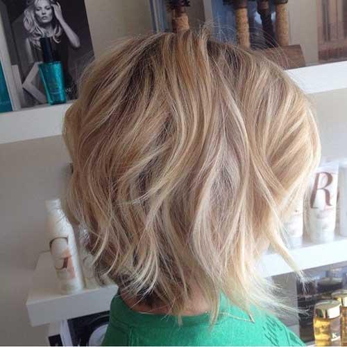Curtas texturizados cortes de cabelo