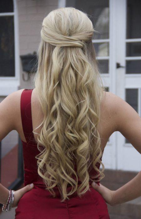 Simple Envolvido longo do cabelo para 2017