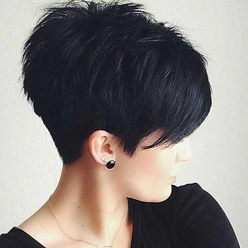 texturizados curtos cortes de cabelo
