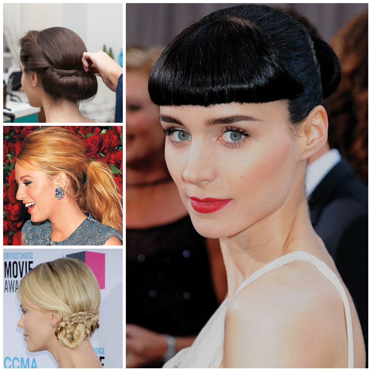 Top 5 Easy Updos para vestir Right Now