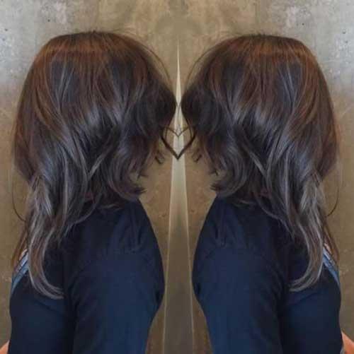 Trendy longos cortes de cabelo 2016