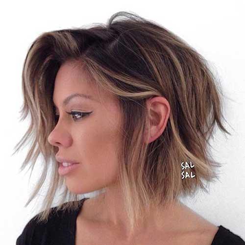 estilos de moda do cabelo curto