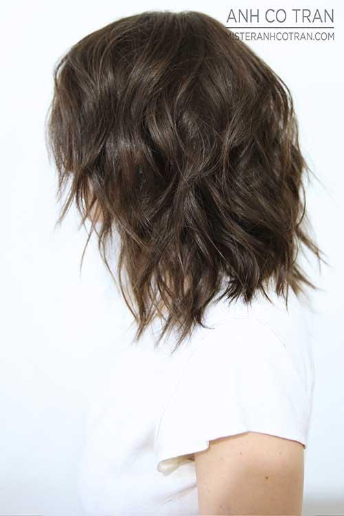 15 curtas Shaggy Cortes de cabelo