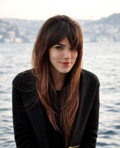15 + Penteados Bonitos com Franja Longa