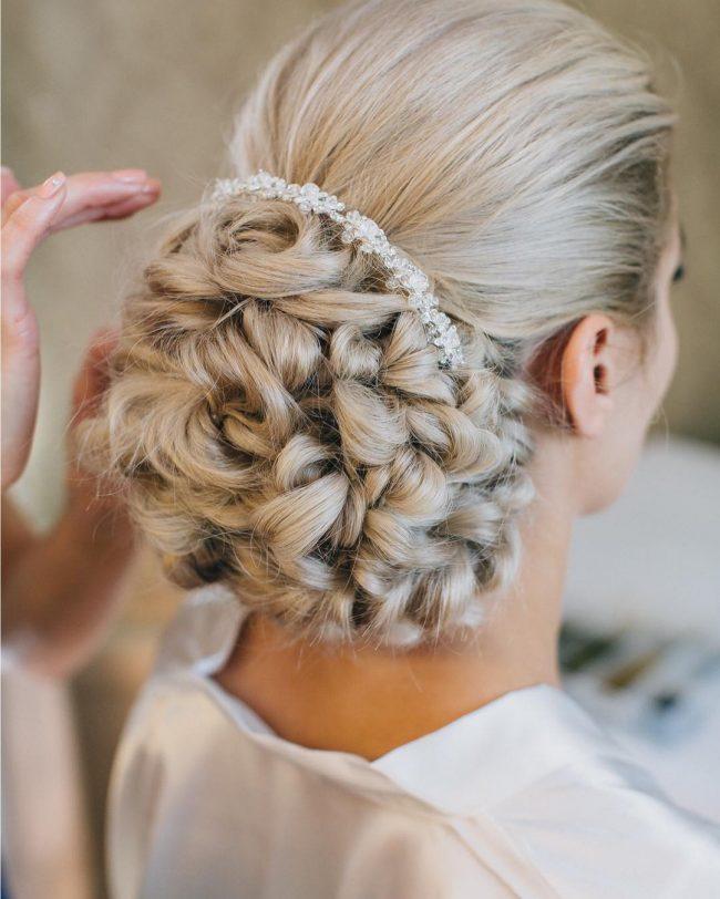 2017 Penteados de casamento para o cabelo longo