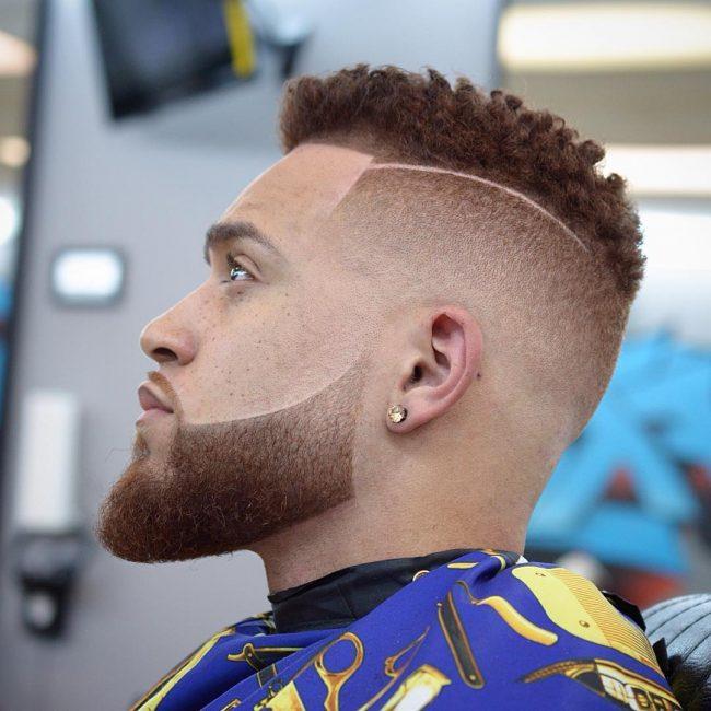 Afro-Americanos, Homens do Cone Fade Cortes de cabelo para 2017