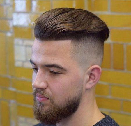 Luxo Homens Penteados
