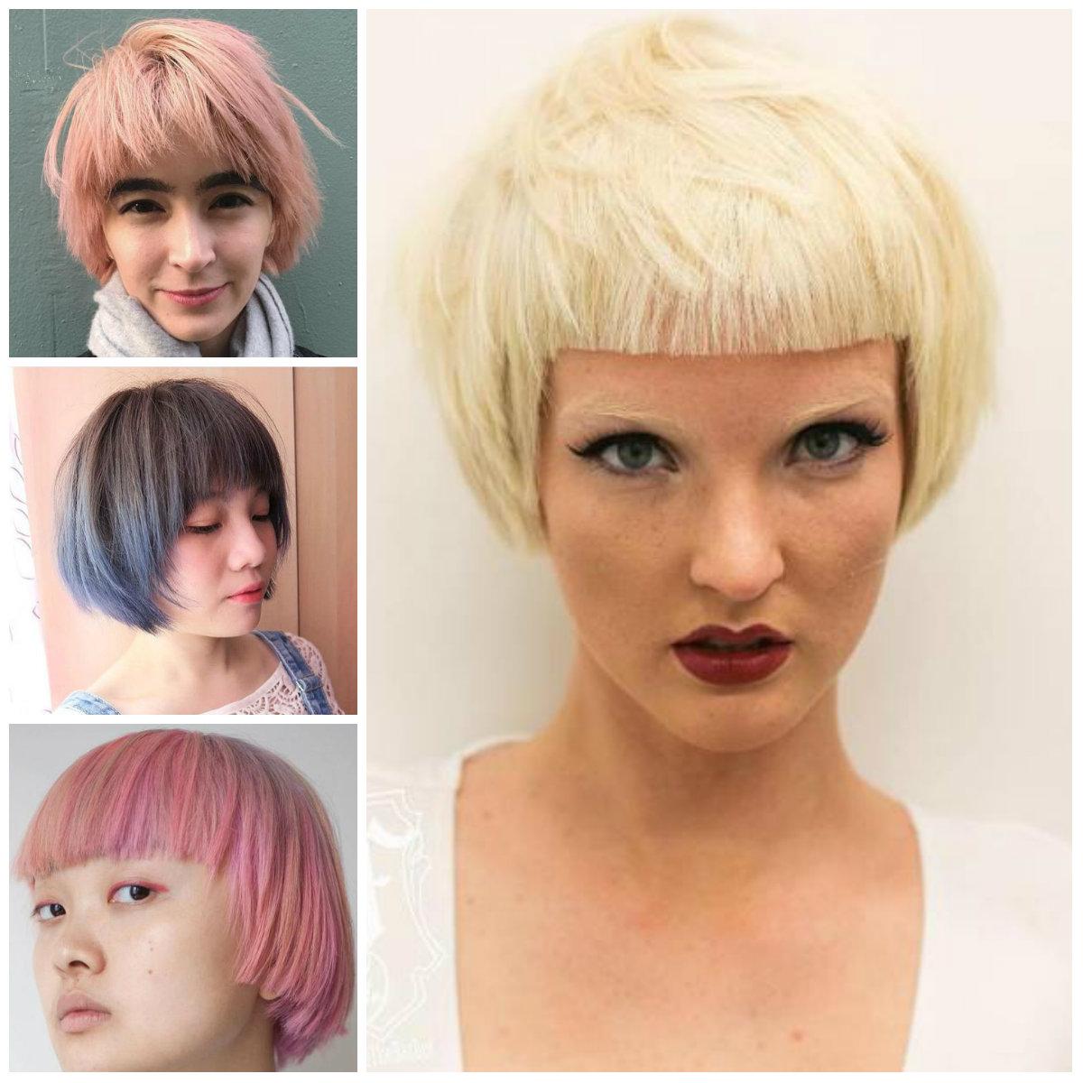 2017 Pajem Cortes de cabelo para Mulheres