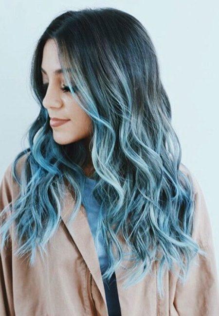 Pastel de Azul, Cor do Cabelo Ideias para 2017