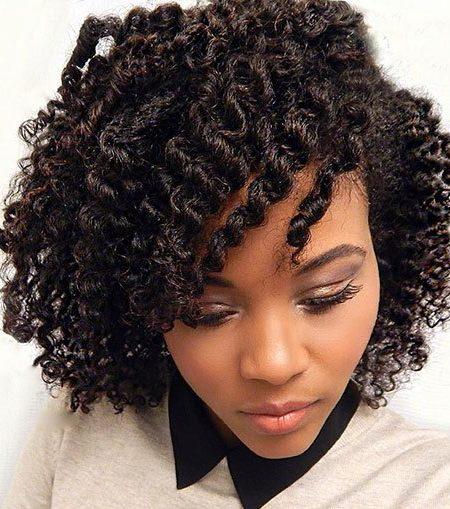 Plano de Torção de Penteados para Mulheres negras
